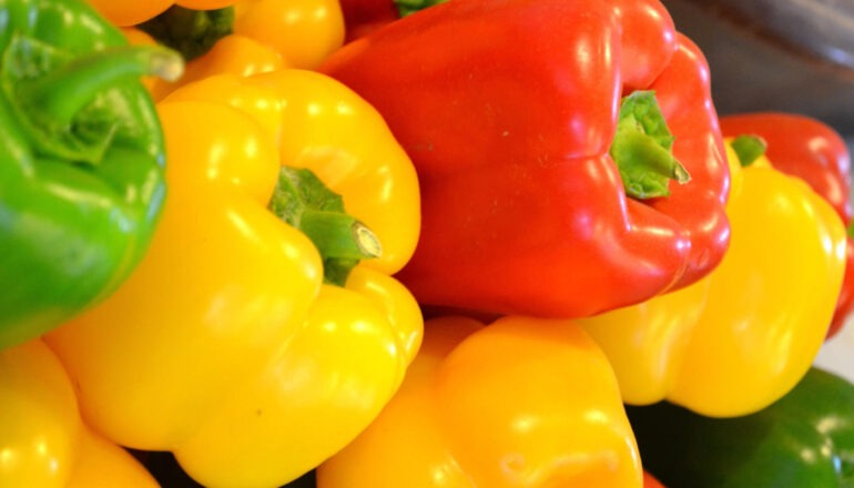 Difference Between Bell Peppers and Capsicum