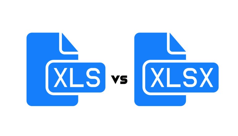 Difference Between XLS and XLSX