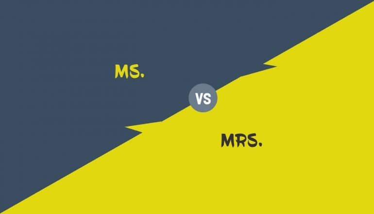 Difference Between Ms and Mrs